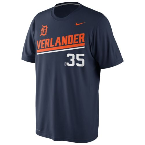 Men's Nike Detroit Tigers Justin Verlander Dri-FIT Legend Tee 1.4
