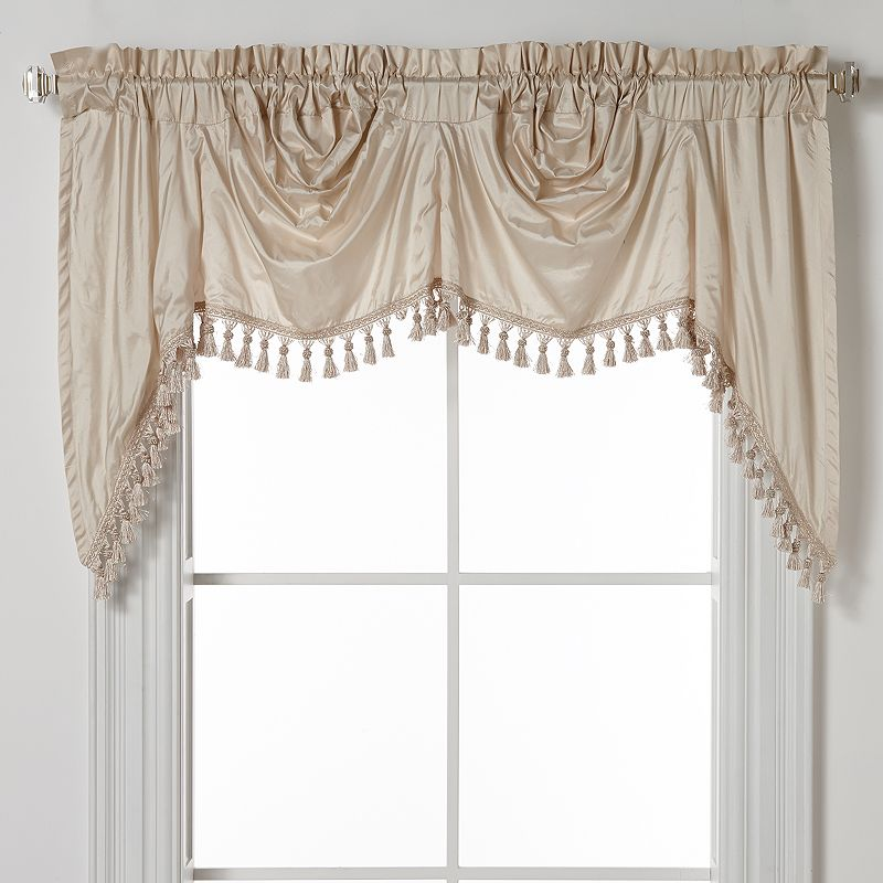United Curtain Co. Dupioni Silk Austrian Valance - 108'' x 30'