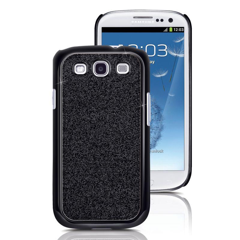 Fashionation Glamorous Samsung Galaxy S3 Slim Snap Cell Phone Case, Black