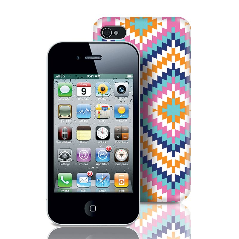 Fashionation Pipper Boho iPhone 4 and 4S Hardshell Cell Phone Case