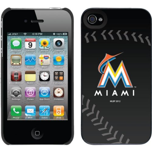 Coveroo, Inc. Miami Marlins iPhone 4 / 4S Cell Phone Case