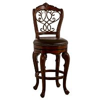 Hillsdale Furniture Burrell Swivel Bar Stool