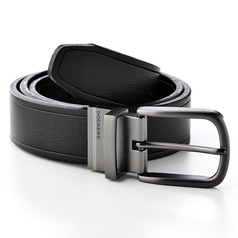 Dockers® Reversible Cut-Edge Leather Belt - Extended Size