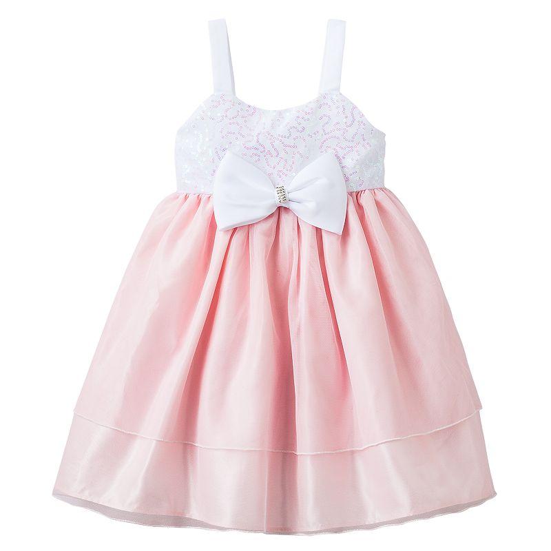 Princess Faith Sequin Empire Dress - Girls 4-6x