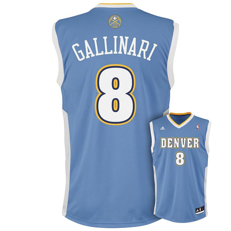 Boys 8-20 adidas Denver Nuggets Danilo Gallinari Replica NBA Jersey