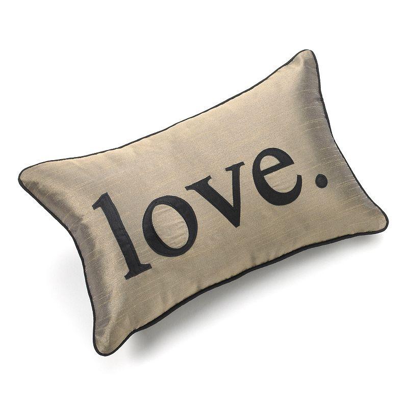 Edie Inc. Pillow Talk Love Decorative Pillow