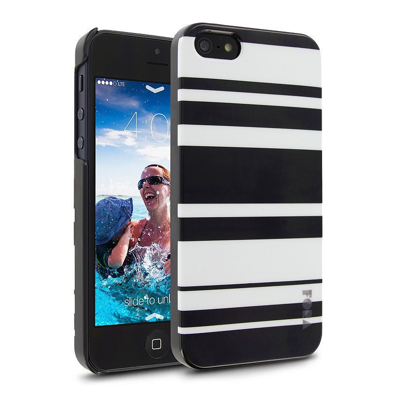 Cellairis Black Stripes iPhone 5 and 5S Cell Phone Case