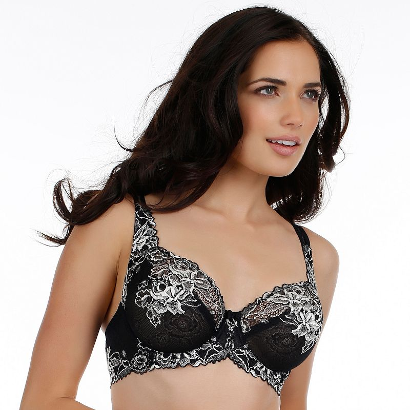 Paramour by Felina Bra: Madison Unlined Full-Coverage Lace Bra 115946