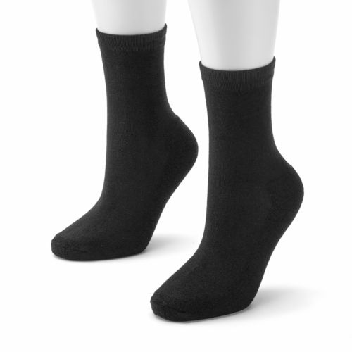 SONOMA life + style® 2-pk. Cushion Sole Crew Socks