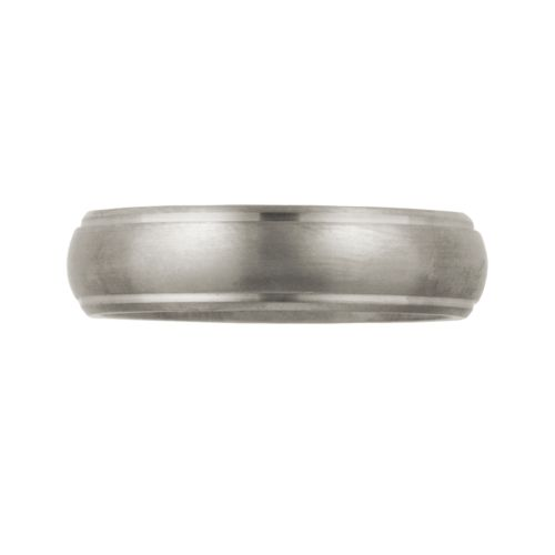 Cherish Always Titanium Wedding Band - Men