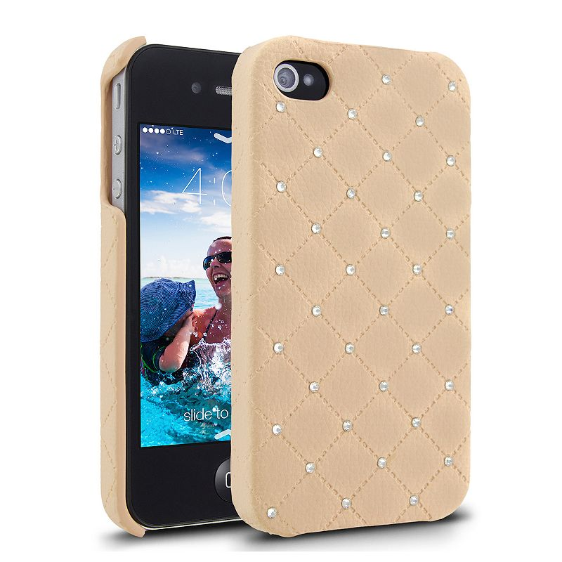Cellairis Treasure Quilt Pink iPhone 4 and 4S Cell Phone Case