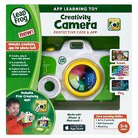 LeapFrog Creativity Camera Protective Case & App - Green
