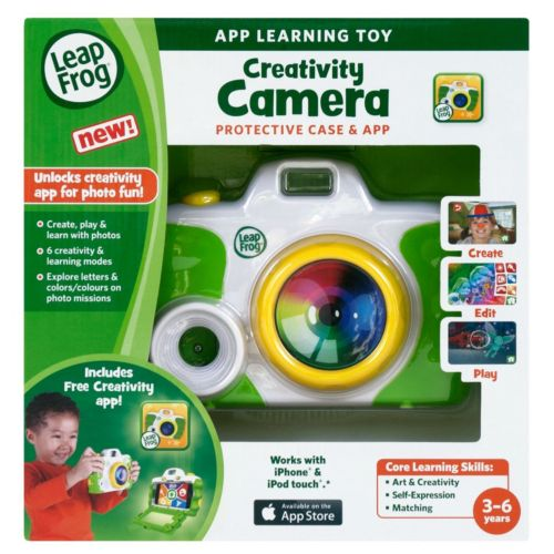 LeapFrog Creativity Camera Protective Case and App - Green