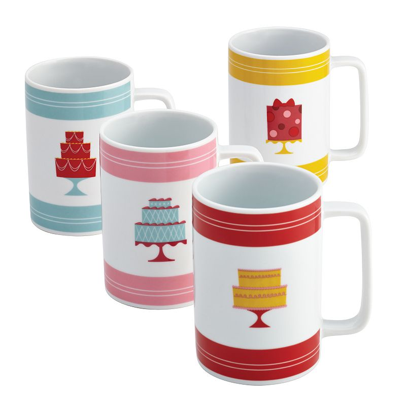 Cake Boss Mini Cakes 4-pc. Mug Set