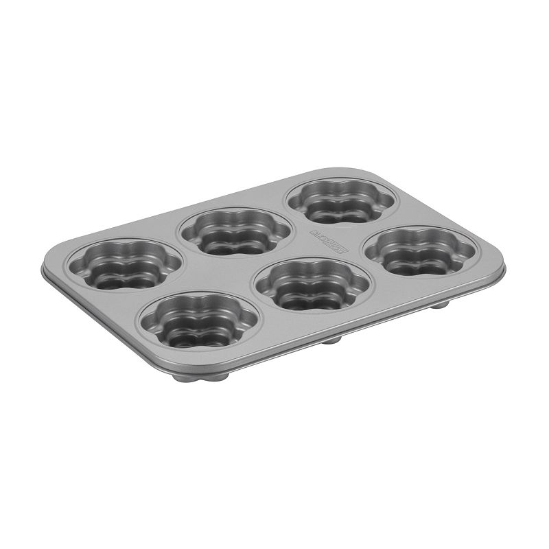 Cake Boss Specialty 6-Cup Nonstick Groovy Girl Cakelette Pan