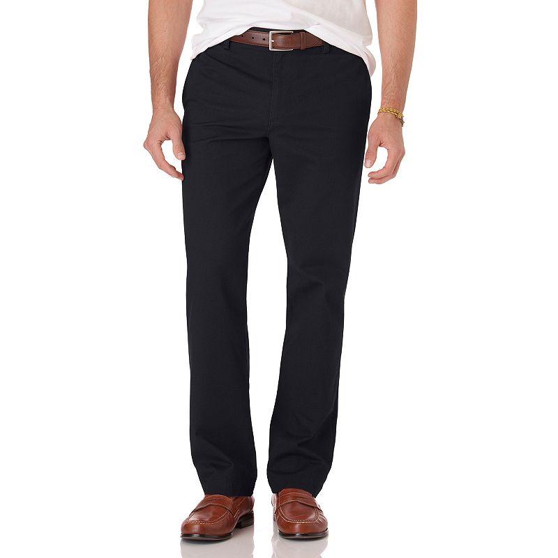 Men's Chaps Slim-Fit Twill Flat-Front Pants