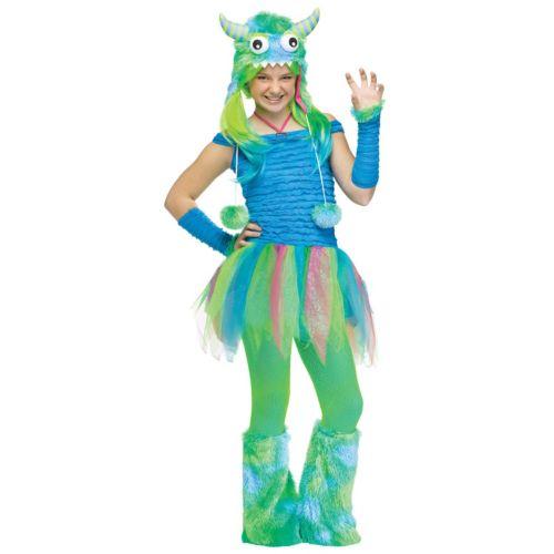 Blue Beasty Costume - Teen
