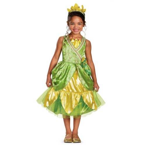 Disney Princess Tiana Deluxe Sparkle Costume - Toddler/Kids