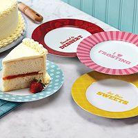 Cake Boss™ Quotes 4-pc. Dessert Plate Set