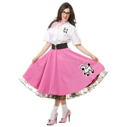 50's Poodle Skirt Costume - Adult