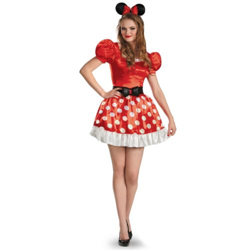 Disney Mickey Mouse and Friends Minnie Mouse Costume - Adult
