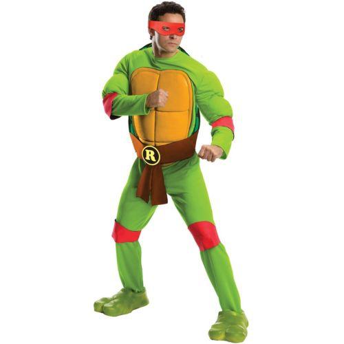 Teenage Mutant Ninja Turtles Deluxe Raphael Costume - Adult