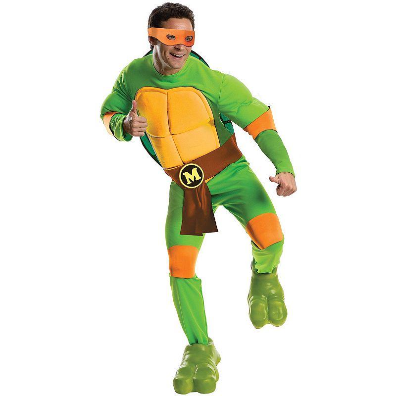 Teenage Mutant Ninja Turtles Deluxe Michelangelo Costume - Adult