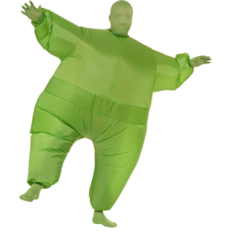 Green Inflatable Suit Costume - Adult
