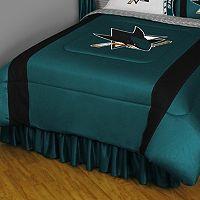 San Jose Sharks Sidelines Comforter - Queen