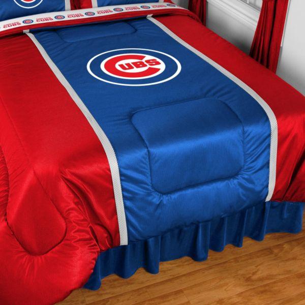 Chicago Cubs Sidelines Comforter - Queen