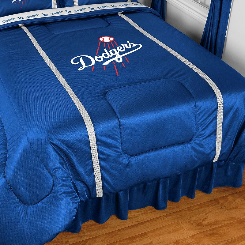 Los Angeles Dodgers Sidelines Comforter - Queen