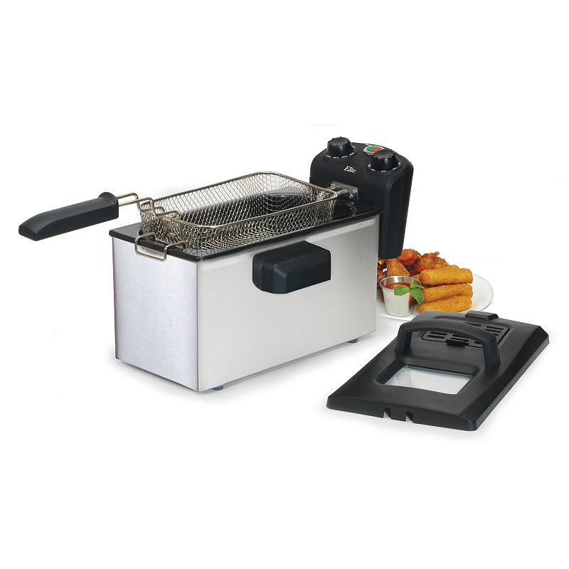 Elite Gourmet 3.5-qt. Immersion Deep Fryer With Timer