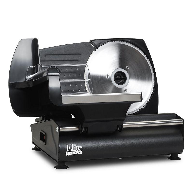 Elite Platinum Electric Food and Meat Slicer