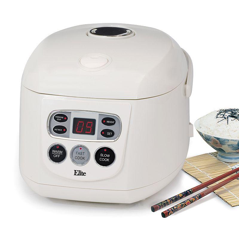 Elite Gourmet 16-Cup Programmable Rice Cooker