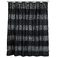 Sinatra Fabric Shower Curtain