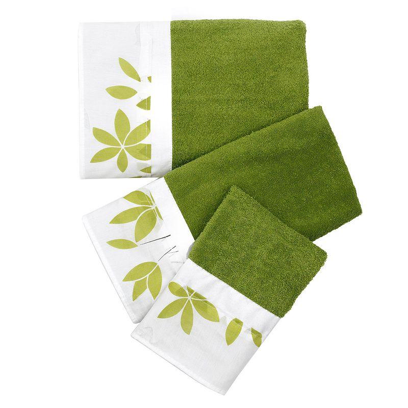 Mayan Leaf 3-pc. Bath Towel Set