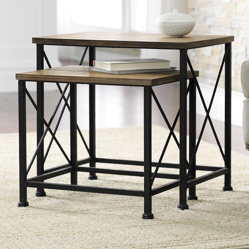 SONOMA Goods for Life™ Wyatt 2-pc. Nesting Table Set