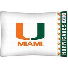 Miami Hurricanes Standard Pillowcase