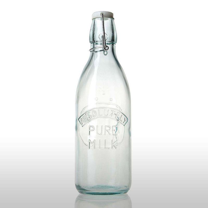 Amici by Global Amici Green 34-oz. Milk Bottle