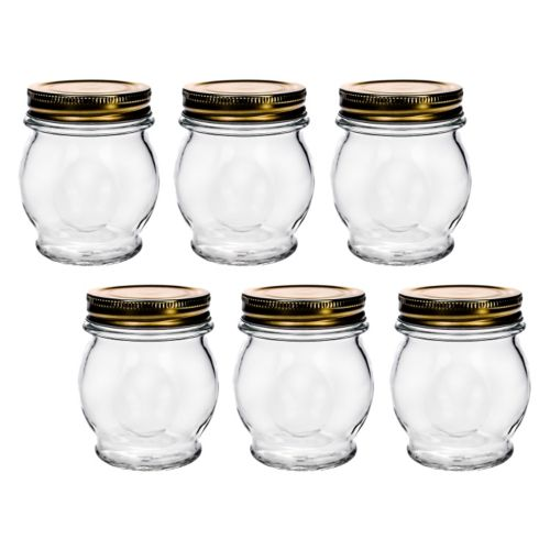 Amici by Global Amici Orto 6-pk. Canning Jars