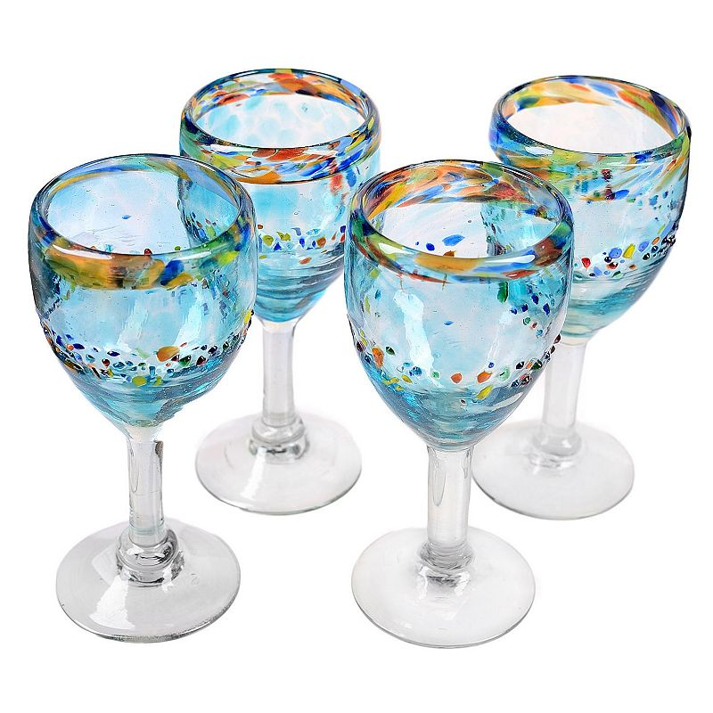 Amici by Global Amici Del Sol 4-pc. Goblet Set