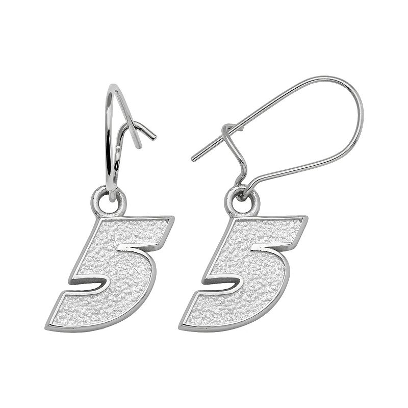 Insignia Collection NASCAR Kasey Kahne Sterling Silver 5 Drop Earrings
