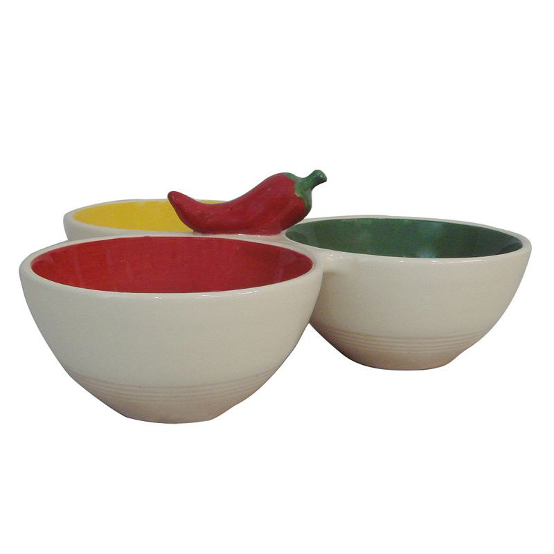 SONOMA Goods for Life™ Chili 3-Section Dish