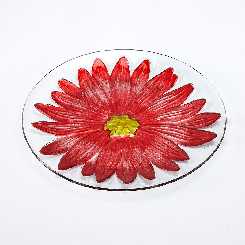 SONOMA Goods for Life™ Flower Glass Platter