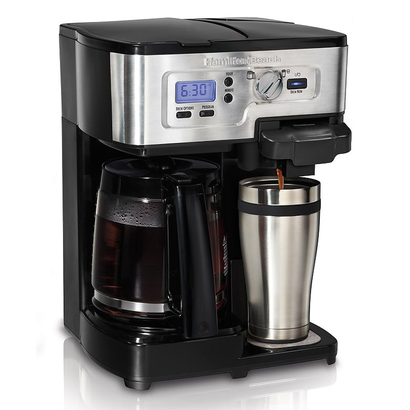 Hamilton Beach 2-Way FlexBrew Coffee Maker