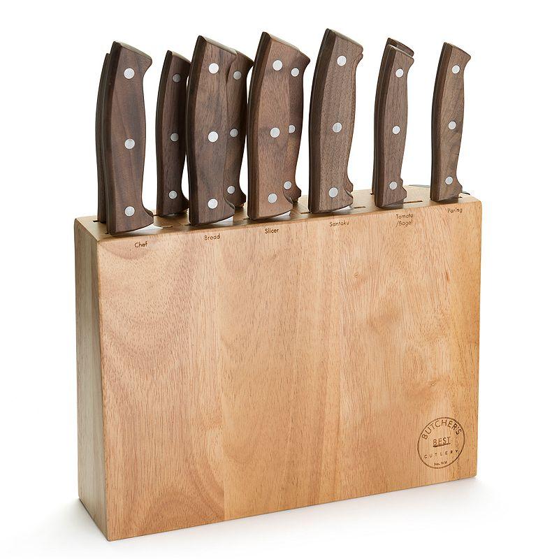 Butcher's Best 13-piece Walnut Cutlery Set