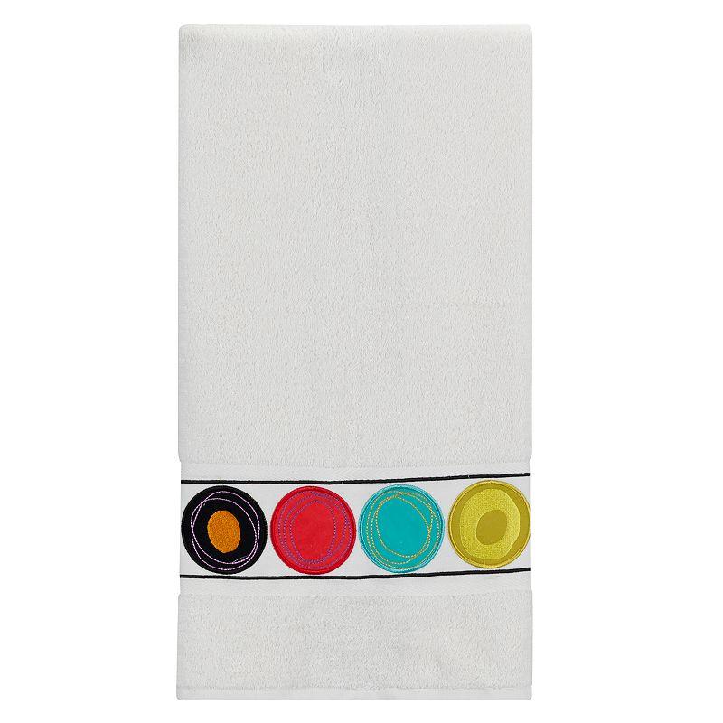 Creative Bath Bright Dot Swirl Bath Towel