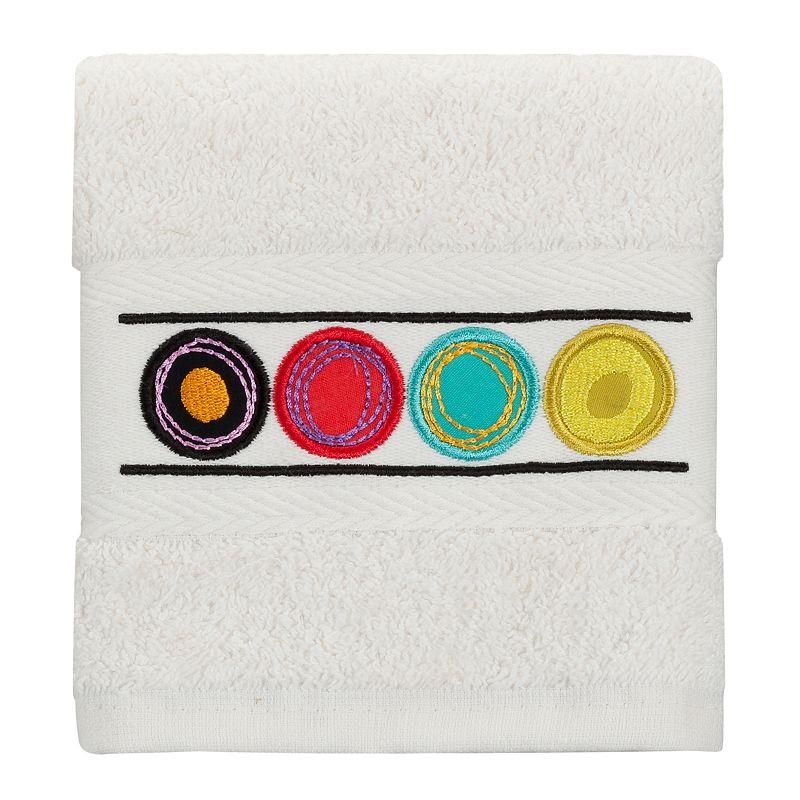 Creative Bath Dot Swirl Fingertip Towel