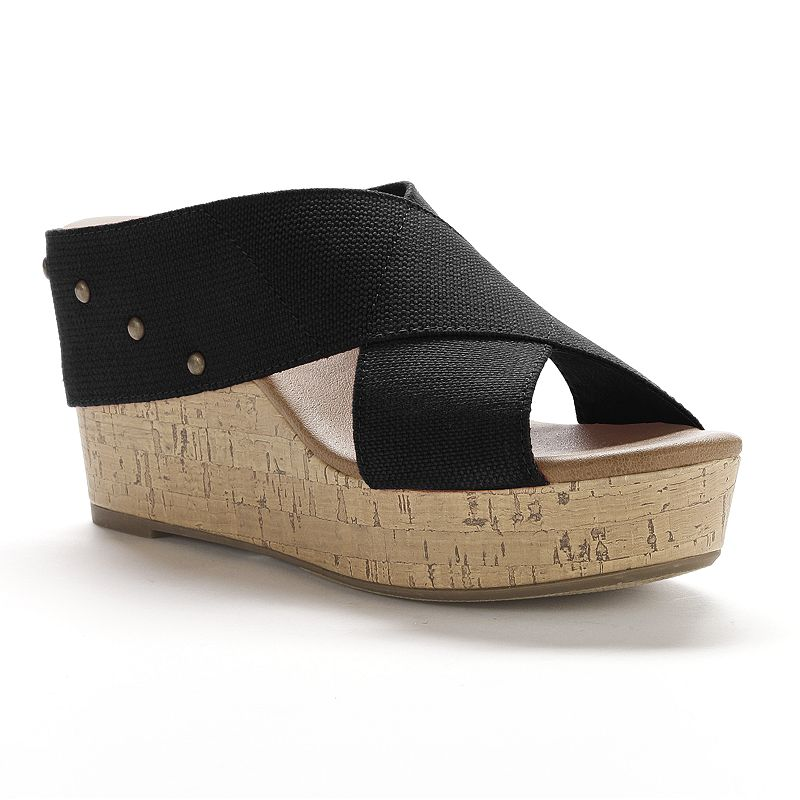 SONOMA life + style® Banded Platform Wedge Sandals - Women