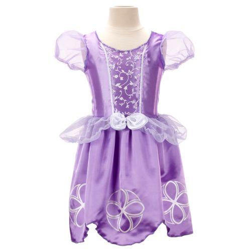 Disney Sofia the First Dress - Girls 4-6x